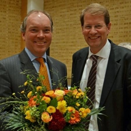 Gratulation von Gero Storjohann, Kreisvorsitzender von Segeberg